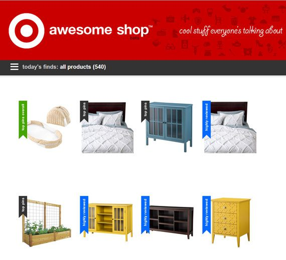 Target's new 'Awesome Shop'