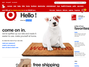 Don't Follow Target.com when Redesigning your Ecommerce Site