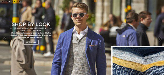 Suitsupply's lookbook uses photography that is worthy of being pinned on Pinterest.