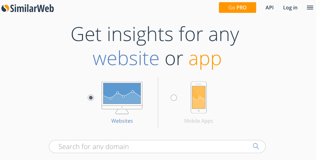 SimilarWeb.com helps to locate potential competitor websites.