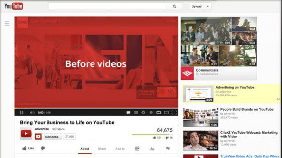 Video commercials running on YouTube can help earn holiday sales.