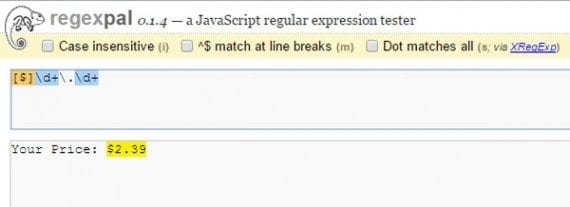 Regular expressions can define selections within text.