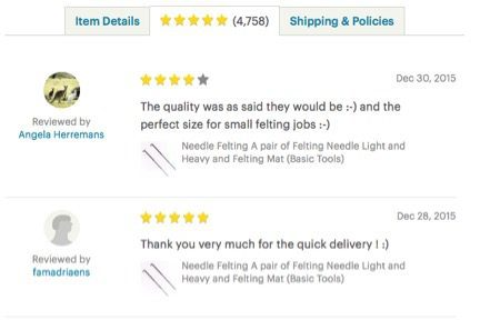 Would any shopper read 4,758 reviews for a single product on Etsy?