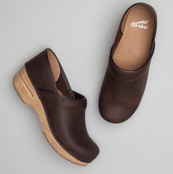 In each of the sweepstakes, folks entered for a chance to win one of 10pairs of Dansko shoes.