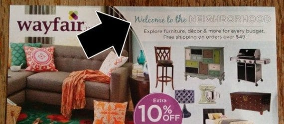 Like Wayfair, target those shoppers most likely to purchase the products you sell.