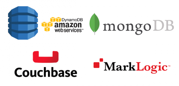 Amazon Web Services DynamoDB, MongoDB, Couchbase, and MarkLogic are all examples of NoSQL databases that may offer a better way to store product catalog information.