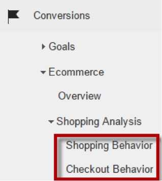 Enhanced Ecommerce reporting, including Shopping Behavior and Checkout Behavior analysis, provides a good snapshot of abandonment during checkout.