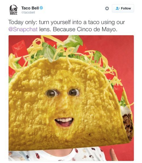 Taco Bell on Twitter.