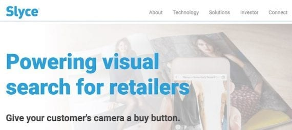 Slyce and Cortexica, as examples, offer visual search functionality for ecommerce sites.