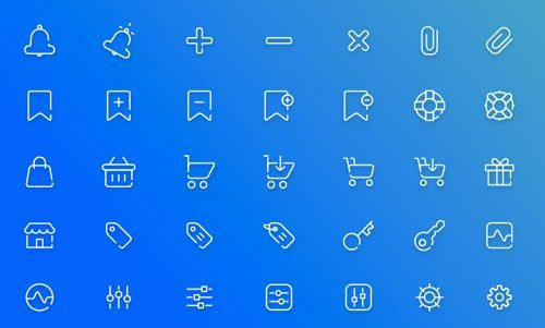 Free Ecommerce Icon Pack.