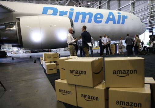 Amazon is greatly expanding its logistics capability. It has its own fleet of 40 Boeing cargo planes and it recently announced a new $1.5 billion air cargo hub in Kentucky. It is experimenting with drone delivery.