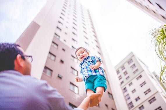 Fathers play an important role in society, and they deserve a bit of attention in your content marketing. <em>Photo: Naassom Azevedo.</em>