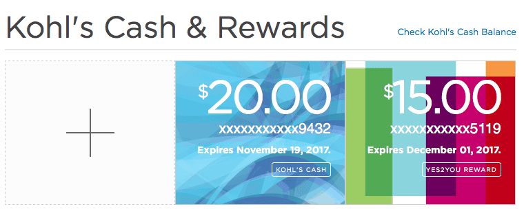 With its Kohl's Cash and YES2YOU rewards, Kohl's is able to convert even first-time customers into loyal ones.