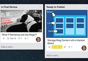 Manage Your Business Blog with a Kanban Board