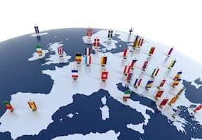 Europe-based merchant accesses the GDPR