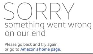 Amazon shoppers received error messages early in the Prime Day event due to overwhelming traffic.