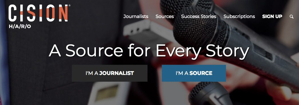 Help a Reporter connects journalists with folks looking for publicity.