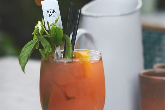 The classic Bloody Mary cocktail can be an inspiration for your January content marketing. <em>Photo: Rhianon Lassila.</em>