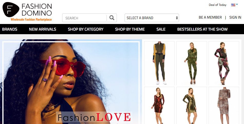 Online supplier marketplaces are good sources of fashion and lifestyle inventory. Fashion Domino, a newer participant, is one of many options for retailers.