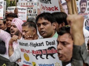 New Indian Investment Rules Limit Amazon, Walmart