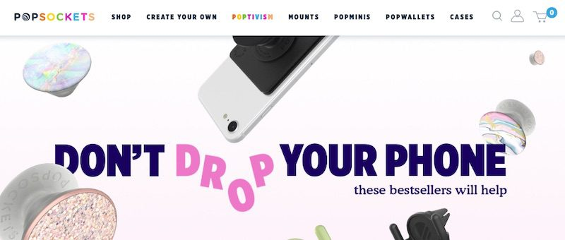PopSockets left Amazon entirely after a dispute. Due to strong brand recognition and sales diversity, PopSockets has continued to prosper.