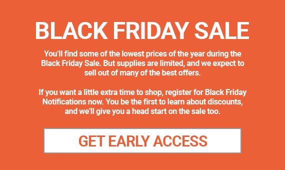 "Capture Black Friday ""leads"" with a pre-sale promotion."