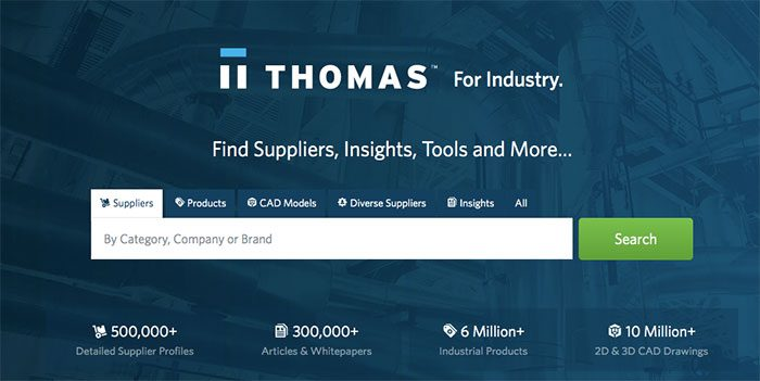 Thomas Registry can help identify a supplier, including U.S.-based manufacturers.