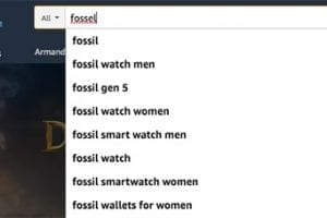 """Matching """"fossil"""" with """"fossel"""" is due to human intervention or machine learning."""