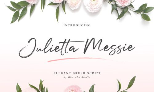 Julietta Messie Free Commercial Fonts for 2020