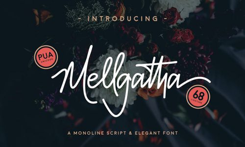 Mellgatha Free Commercial Fonts for 2020