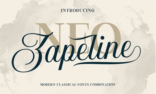 Neo Zapeline Free Commercial Fonts for 2020