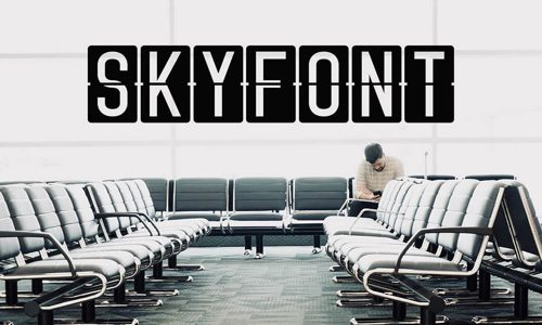 Skyfont Free Commercial Fonts for 2020