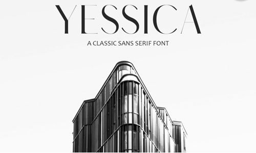 Yessica Free Commercial Fonts for 2020