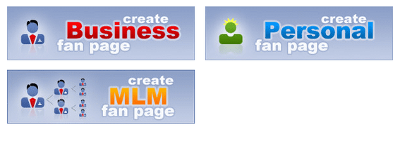 Fanpage Engine offers an array of templates for business, personal use and multi-level marketers.
