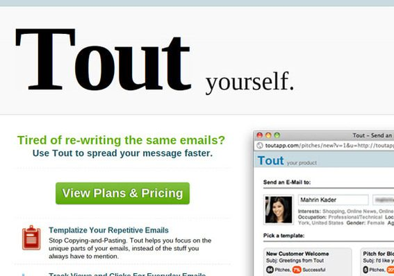 Tout is especially helpful for Chromebook users that send similar emails often.