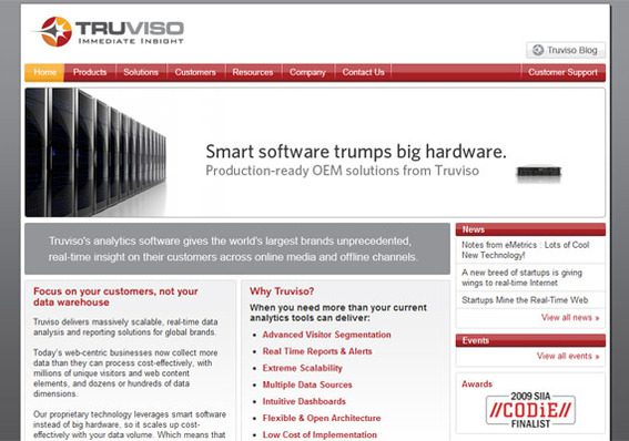 Truviso offers a very scalable solution.