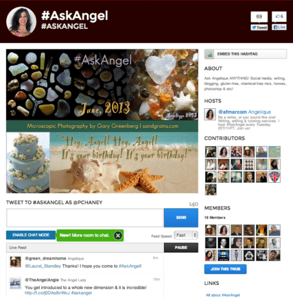 AskAngel is an example of a branded landing page.