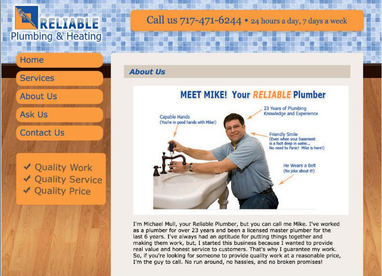 Reliable Plumbing and Heating