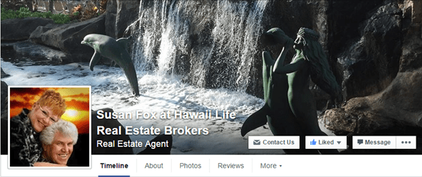 Susan Fox Real Estate Facebook Page.